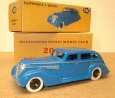 Dinky 39G Hupmobile 6 Sedan Maidenhead Static Model Club Exclusive (01/06/2013)