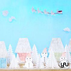 Iarna pe ulita, cu Mos Craciun yau.ro yau concept elena toader Concept, Contemporary, Day, Floral, Flowers, How To Make, Design, Royal Icing Flowers
