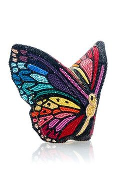 Black Tie Affair, Unique Purses, Judith Leiber, Butterfly Design, Spring Summer, Couture, Crystals, Fashion Design, Clutches