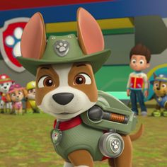 Charming Watch As Chase, Marshall, Rubble, Rocky, Zuma And Skye Try To Help · Paw  Patrol ...