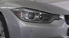 Extremer Schaden am 3er BMW in Gütersloh. Kunststoffreparatur Smartrepair