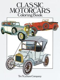 Find Classic Motorcars Coloring Book - by Tre Tryckare Co. ( 9780486251387 ) Paperback and more. Browse more  book selections in General books at Books-A-Million's online book store