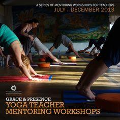 Yoga Teacher Mentoring workshops! London yoga