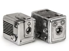 Vintage Camera Boxes: Cute for storing knick knacks.