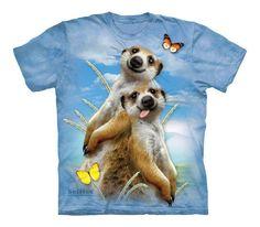 Meerkat Selfie Kids Zoo T-Shirt