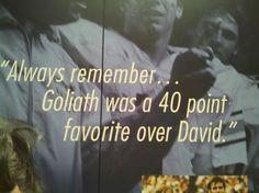 Love this quote from Shug Jordan, a former Auburn head football coach