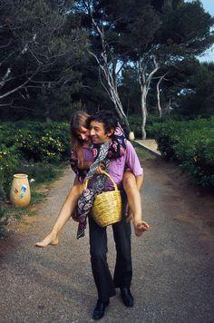 Jane Birkin et Serge Gainsbourg : dans les archives de Match