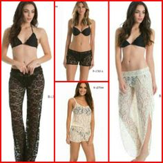 LACE FOR THE WEEK END? ELAN BEACH !!!