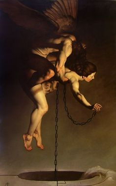HADES & PERSEPHONE The mating of Hades And Persephone is such a primal story, filled with conquest, hunger, desperation, and love … .......just in my feeling ;) ....... Artist : Roberto Ferri