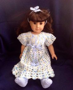 A personal favorite from my Etsy shop https://www.etsy.com/listing/258848036/american-girl-doll-clothes-18-inch-doll