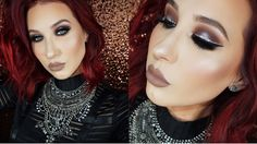 Jaclyn Hill tutorial...and she's wearing a rock-chick look, which I can relate to