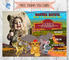 Disneys The Lion Guard Birthday Invitation By SGInvitations On - Lion king birthday invitation template free