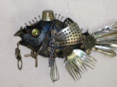 Zia Joey's Art Dolls, Cutlery Fish