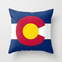 Colorado State Flag - Authentic version Throw Pillow by LonestarDesigns2020 - Flags Designs + - $20.00
