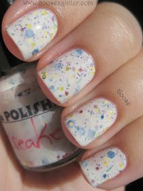 Goose's Glitter: Pretty & Polished - Jawbreaker: Swatches and Review