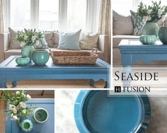 Fusion Mineral Paint color: Seaside