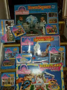 3 New Vintage 1988 Sears Disneyland Commemorative Playsets Plus Accessories | eBay