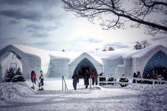Ice Hotel, Quebec City, Canada