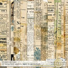 Antiquated News Papers #artandstyle #artjournal #dawninskip #scrapbookgraphics #doodle #paper #stamps #antiquepapers #handmade