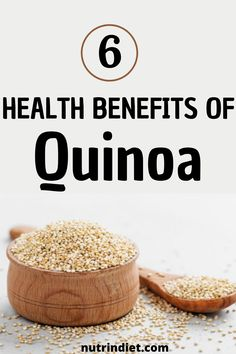 Discover the health benefits of quinoa and also the benefits of quinoa for weight loss. Learn how to include quinoa in your diet. Quinoa is one of the healthiest foods and if you are a vegan, quinoa is an asset to enrich your diet as well. #quinoabenefitsforhealth #healthbenefitsofquinoa #quinoaforweightloss #howtoeatquinoa How To Eat Quinoa, Healthy Diet Tips, Healthy Recipes, Quinoa Health Benefits, Lose Weight In Your Face, Healthiest Foods, Types Of Diets, Protein Sources, Gluten Free Recipes