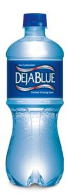 Deja Blue Bottled Water Pet Bottle, Water Bottle, Bottled Water, Spending App, Dr Pepper, Keurig, Drinking Water, Healthy Drinks, Shades Of Blue
