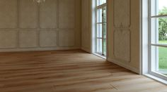 Nowoczesne podłogi z dębu, marki BKD Home.