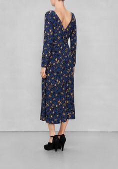 & Other Stories | Midi-Length Leopard Dress