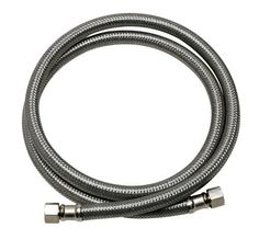 Fluidmaster Dishwasher Connector With and Elbow Fittings, Braided Stainless Steel - Female Compression Thread x Female Compression Thread, 5 Ft. Appliance Sale, Appliance Repair, Appliance Parts, Stainless Steel Dishwasher, Stainless Steel Wire, Dishwasher Installation, Ecology Design, Dishwasher Parts, Trousers