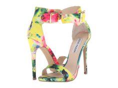 Steve Madden Marlenee (Floral) High Heels - Shoe Obsessed