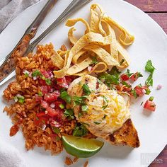 A meal made healthy. Take a peek at these famous restaurant remakes: fiesta lime chicken, bacon cheddar-chipotle chicken panini, chicken mango salad with sesame wontons, cheesy Italian baked pasta and a bourbon barbecue burger. Get the details to the recipe you love here.