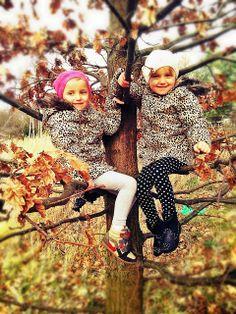 fashionkids, leopard printed coats, autumn, twins,