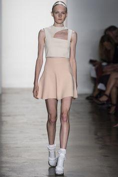 Louise Goldin at New York Fashion Week Spring 2014