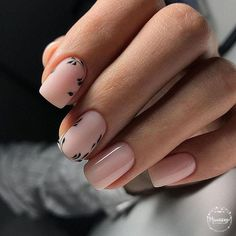 Image in Nails / Nail Polish / Vernis / Manicure collection by Mouna DramaQueen Minimalist Nails, Elegant Nail Designs, Nail Art Designs, Nails Design, Classy Nails, Simple Nails, Gorgeous Nails, Pretty Nails, Nude Nails