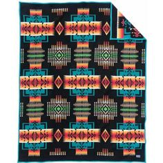 chief joseph pendleton blanket in black