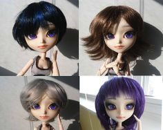 Custom new Isul testing out wigs.