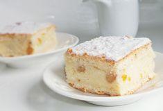 Pentru foi 4 linguri untură 600 -650 gr făină albă o linguriţă praf de copt 200 ml lapte două ouă 3 linguri zahăr puţină sare Umplutură 800 gr brânză de vaci dulce 3 ouă 6 linguri griş o linguriţă coajă rasă portocale o linguriţă esenţă de rom 4 – 5 linguri zahăr 50 grame stafide … Köstliche Desserts, Delicious Desserts, Dessert Recipes, Romanian Food, Romanian Recipes, Cake & Co, Sweet Cakes, Pie Recipes, Vanilla Cake