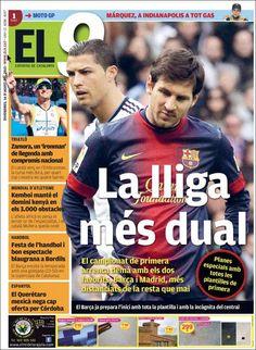 Prensa deportiva del 16 de Agosto 2013