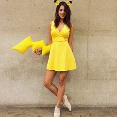 Eiza Gonzales as Pikachu at Comic Con 2014