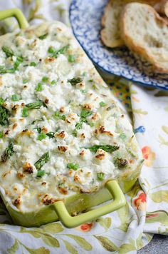 Spring Vegetable and Goat Cheese Dip by Pink Parsley Blog, via Flickr