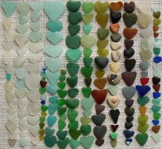 why do I never find sea glass hearts?