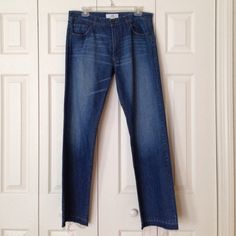 A/X Armani Exchange Jeans A/X Armani Exchange Jeans. Fringed legs. Only worn once. About a 31 inch inseam. A/X Armani Exchange Jeans