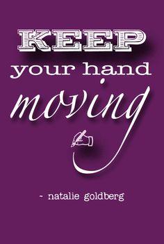 NATALIE GOLDBERG