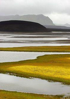 Reserva natural de Fjallabak (detail). © Inaki Caperochipi Photography