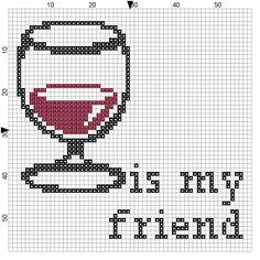 wine, embroideri pattern, friend cross, crossstitch freebi, cross stitch patterns, cross stitches, crossstitch ii, cross stitcheri, cross stitchin