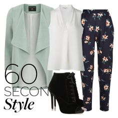"""Untitled #72"" by ayechic on Polyvore featuring Dorothy Perkins, Tabitha Simmons and 60secondstyle"