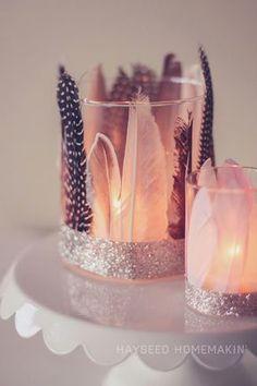 Eine coole Idee um deine Kerzen aufzupeppen