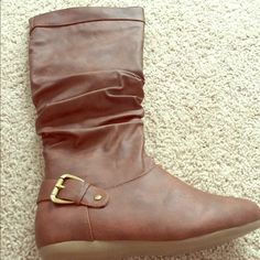 Leather boots Ready for shipping Shoes Ankle Boots & Booties