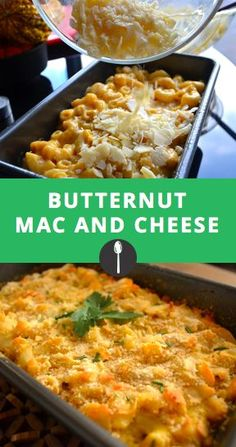 This butternut squash recipe is the perfect healthy version of baked macaroni and cheese. #greatist #spoonuniversity