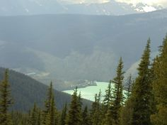 Emerald Lake Taken at Yoho National Park from Emerald Triangle trail. Field, BC