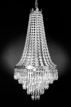 Gallery Empire Crystal Chandelier by Gallery Chandelier